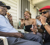 America's oldest vet is turning 109, he celebrated with cigars and burgers