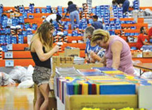 'Spirit of Giving' annual Back to School Bash