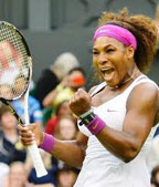 Serena Williams, a champion on and off court