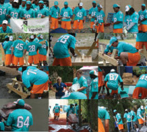 Miami Dolphins Rookies Rebuilding Together event