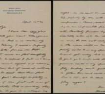 DSU PUBLISHES ONLINE IMAGES OF THEODORE ROOSEVELT LETTERS