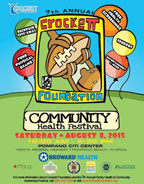 Crockett Foundation hosts seventh annual Family Health and Community Awareness Festival