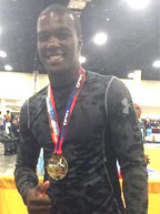 Handy's Timothy Andrews wins Gold Medal at 2015 junior U.S. open International Judo Championships in Fort Lauderdale
