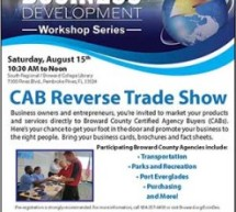 2015 Business Development Workshop Series – CAB Reverse Trade Show