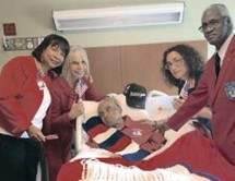 Vitas Healthcare honors World War II hero with military bedside salute