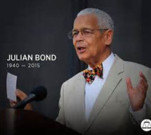 Julian Bond served his community, his state, and his nation well, and with purpose