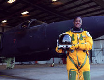 First Black woman to pilot the cool spy planes of Intelligence