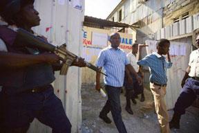 HAITI-CRITICAL-TEST