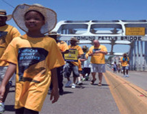 Thousands march nearly 900 miles in Journey for Justice