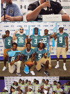 More than 100 teams attend Miami Dolphins third annual high school media day at Nova Southeastern University