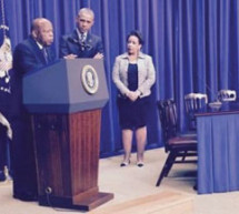 President Obama lauds civil rights leaders on 50th anniversary of Voting Rights Act