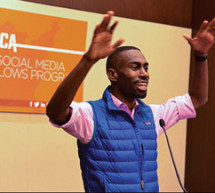 2015 USCA Newsmaker DeRay Mckesson, Black Lives Matter activist, compares fighting AIDS to protest over policing
