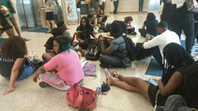 NNPA-STUDENT-PROTEST