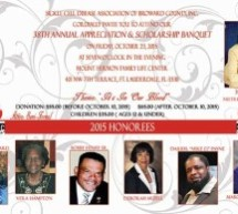 Sickle Cell Disease Association of Broward County, Inc. Invites You to 38th Annual Appreciation & Scholarship Banquet
