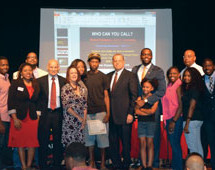 Broward leaders joined together to address community during recent No Flakka Forum at Dillard High School