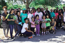 Chi Psi Omega and Kappa Kappa Omega of AKA partner again for playground renewal