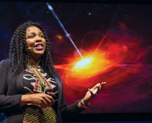 Dr. Jedidah Isler, the first Black woman to receive a Doctorate in A strophysics from Yale