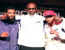 Homeless as kids, brothers Lamont and Anthony Peterson evolve from street life to boxing's elite