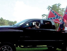 Fifteen Confederate 'flaggers' indicted for terroristic threats against Blacks