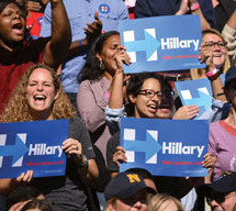 Obama, Clinton fire-up women activists: 'We cannot rest on our laurels'