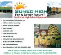 Enroll Now at SunEd High For A Better Future!