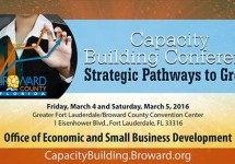 Capacity Building Conference Strategic Pathways to Growth