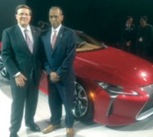 Lexus Reveals the LC 500 at the North American International Auto Show