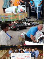 The Holiday Committee for the ILA Local 1526 recently held their annual Christmas holiday boxes giveaway