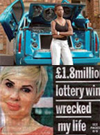 Lottery winners who blew it all