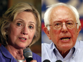 clinton-and-sanders