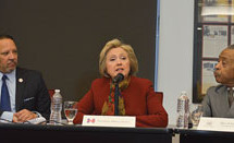 Hillary Clinton meets with civil rights groups, Black millennials