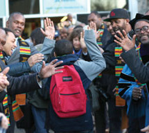 Hundreds of Black men show their support for students in Seattle