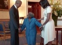 106-Year-Old Woman Visits the White House