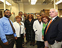 FABOM connect with legislative leaders and visit FAMU cancer research lab