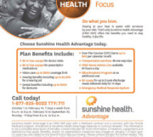 Choose Sunshine Heath Advantage Today