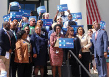 Clinton captures critical endorsement of Florida Legislative Black Caucus