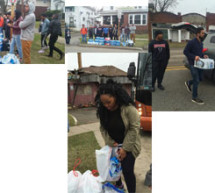 Howard University students spend Spring Break helping with water crisis