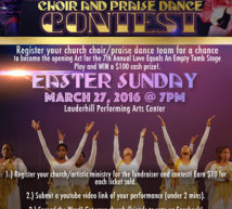 Love Equals An Empty Tomb Choir and Praise Dance Contest