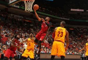 Miami Heat shooting guard Dwyane Wade.