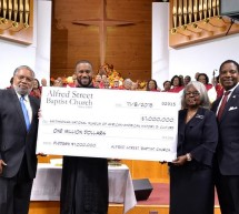 Historic Alfred Street Baptist Church Donates $1M to Smithsonian's African-American History Museum