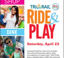 TRI Rail Ride & Play – Saturday, April 23