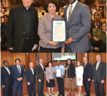 Broward Good News recognizes BCT bus operator and Archbishop Edward McCarthy