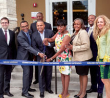 Grand opening of Island Living Apartments, Overtown's first newly constructed affordable housing development