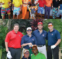 The Community took a big swing to benefit the Minority Builders Coalition, Inc.