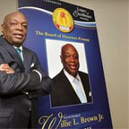 NNPA presents Willie Brown with Legacy Award