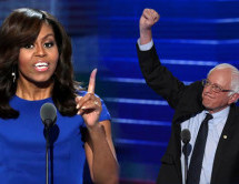 Critic's Notebook: Bernie who? Michelle Obama, Sarah Silverman steal Democratic Convention