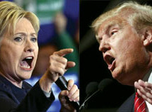 Poll: Clinton holds double-digit lead over Trump