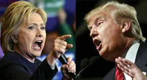 Hillary-Clinton-VS-Donald-T