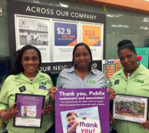 Publix Super Markets is new number one national March for Babies corporate partner