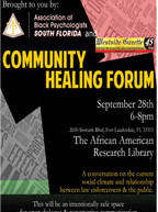 Community Healing Forum